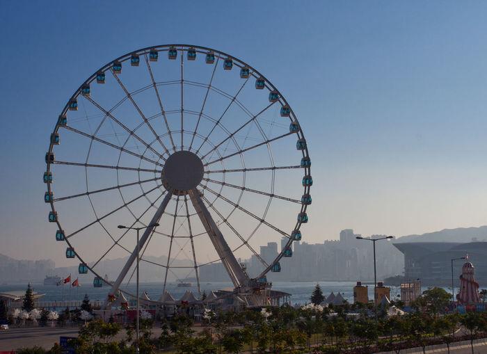 The Hong Kong Observation Wheel Big Wheel Ferris Wheel Observation Wheel Outdoors Outdoors Photograpghy  Travel Destinations
