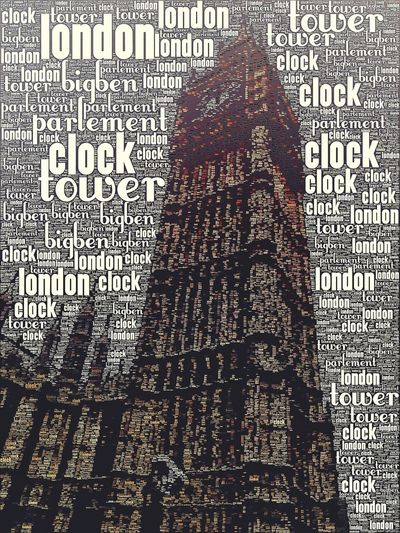 Big Ben typography
