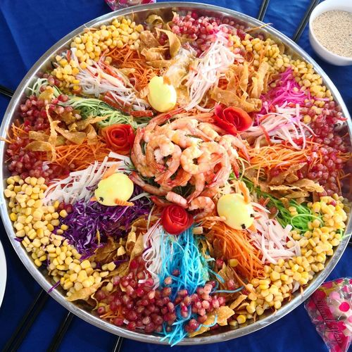 Yee Sang Yeesang Chinesenewyear Chinese Lousang Close-up