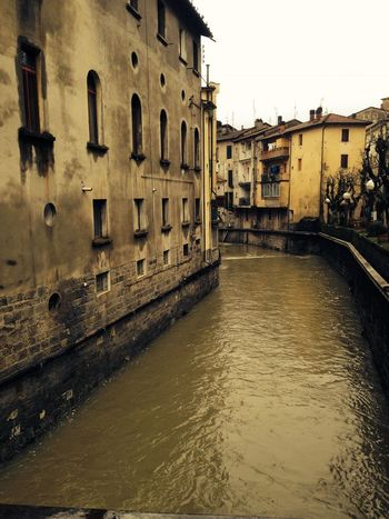 #porrerraterme #bologna #beautifulplace Building Exterior Built Structure Water Architecture Sky Building Canal Outdoors City