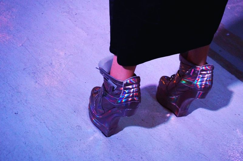 Future shoes. Thekarlexperience Andsoforthsg Dinner Theater Futuristic Fun