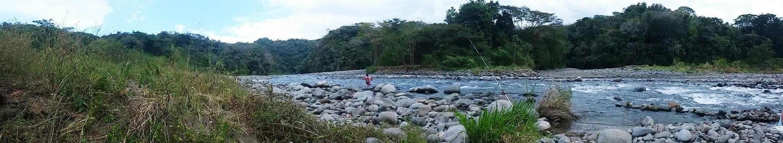 River Costaricanatural Costa Rica Puntarenas