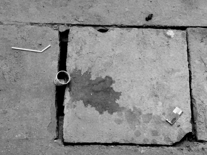Somebody had a bad day that day From My Point Of View Stained Stains And Cracks Stains Coffee Spills Lost Memories Streetphotography Straw Blackandwhite Blackandwhite Photography EyeEm Best Shots EyeEm Natural Cracked Cracked Concrete