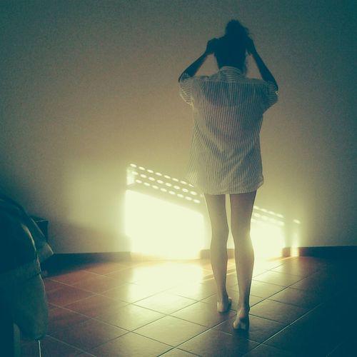 Shine Ya Light Sun Effect Grandpa ♥  Big Shirt