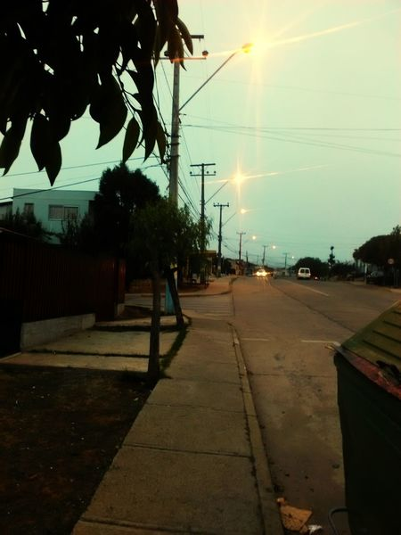 Calles de mañana Lighting Equipment Viña Del Mar Celular Chile♥ Barroco Austral Urban Street Light City Street Color