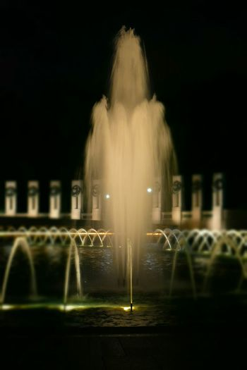 WWII Nationalmall Sightseeing Nightphotography Water_collection Water Color Photography WashingtonDC EyeEm Best Shots