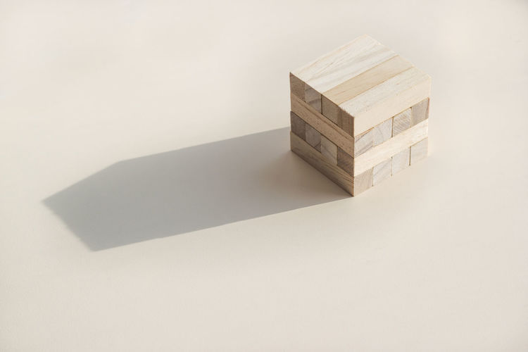 Jenga Art Game Toy Shadow Box Toy Block Copy Space 17.62°