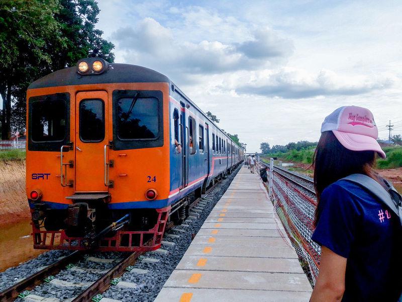 นครราชสีมา Locomotive Steam Train Railroad Track Train - Vehicle Old-fashioned Public Transportation Railroad Station Platform Rail Transportation Journey Railroad Station