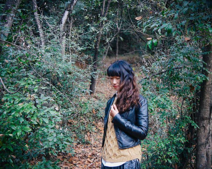 森林 女孩 People Photography China,baoshan Girl 冬日 她说照片很吓人 但是我的损人属性还是发了