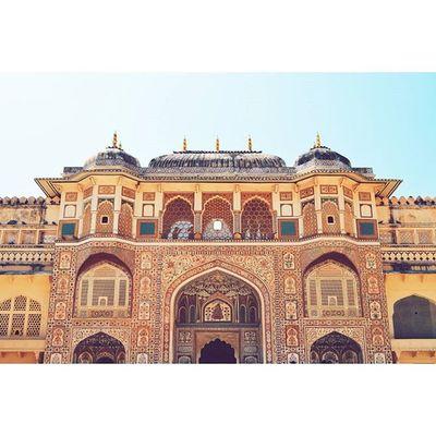 IndiaJourney India Jaipur VSCO Vscocam Vscoindia Vscojaipur Amerfort AmberPalace Amer