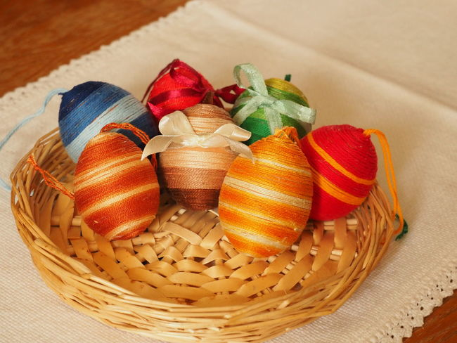 At Home At Home Sweet Home Bunny Nest Colourful Colours Easter Easter Eggs Easter Ready Easter Sunday Easteregg Eastersunday Hímestojások