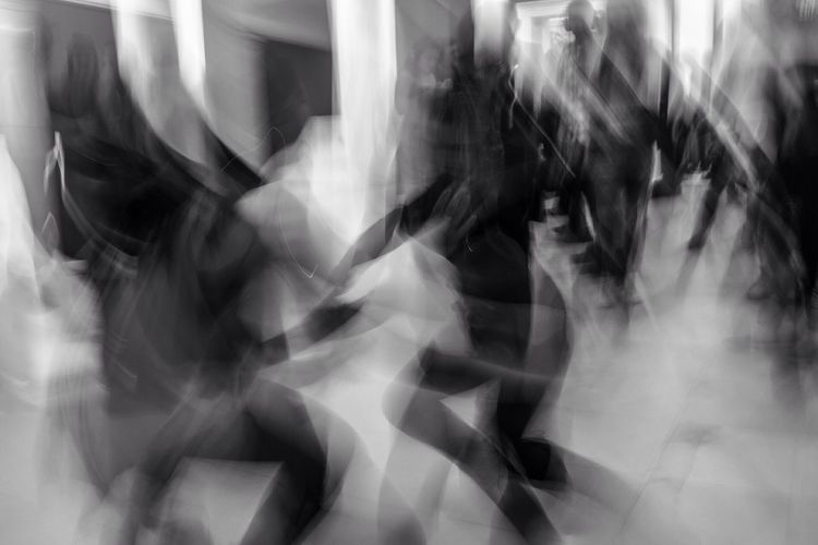 Silent Disco. Pittsburgh, 2016. Abstract Long Exposure Pittsburgh Silent Disco First Eyeem Photo Dancing