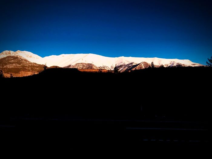 Yolculuk.. Yolculuk Mountain Sky Scenics - Nature Clear Sky Mountain Range Nature Tranquil Scene Blue No People Tranquility Environment Copy Space Beauty In Nature Landscape Non-urban Scene Day Cold Temperature Snow Sunlight Idyllic My Best Photo My Best Photo
