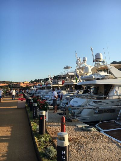 Yatchs Yatch Marine Rows Sardinia Sardegna Italy