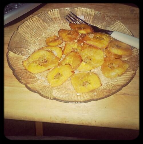 These plantains i made tho>>>>>