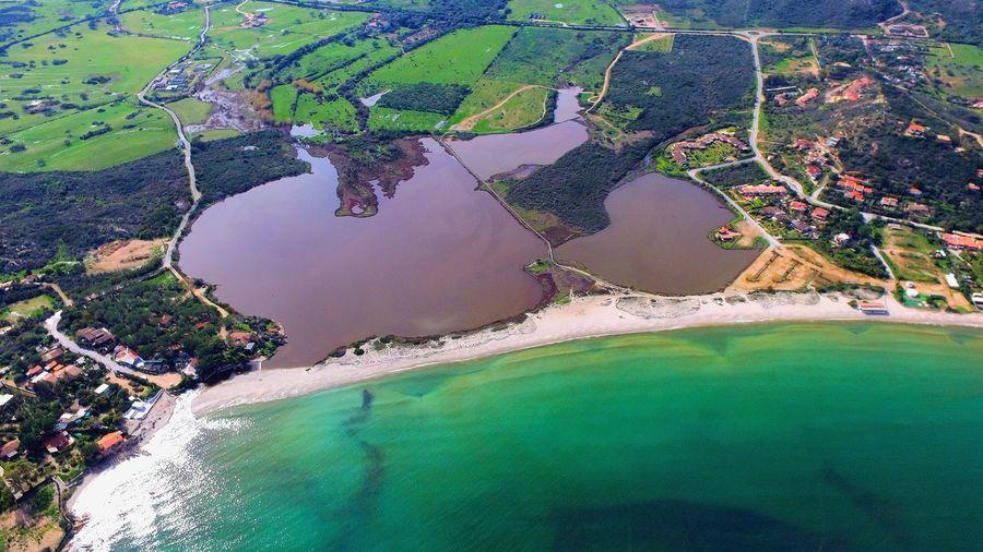 Italy Sardinia Sardinia Sardegna Italy  Portotaverna Sardegna Mare Water Aerial View Sea Beach Flood Tree Hot Spring Lava Rural Scene Agriculture