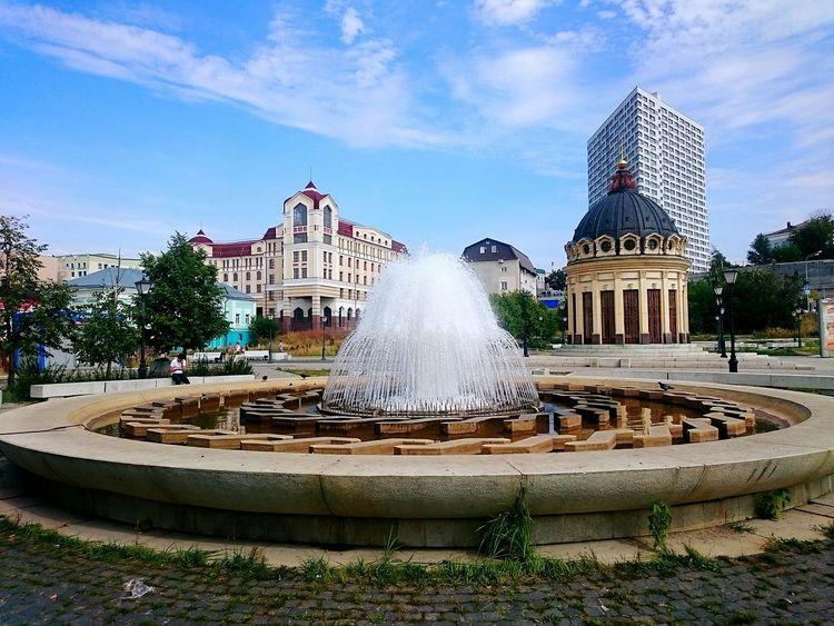 Фонтан казань татарстан