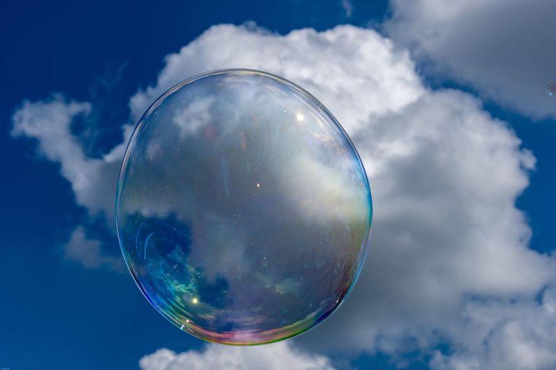 Rainbow Colors EyeEm Selects Cloud - Sky Sky Bubble Vulnerability  Sphere Nature Reflection Transparent