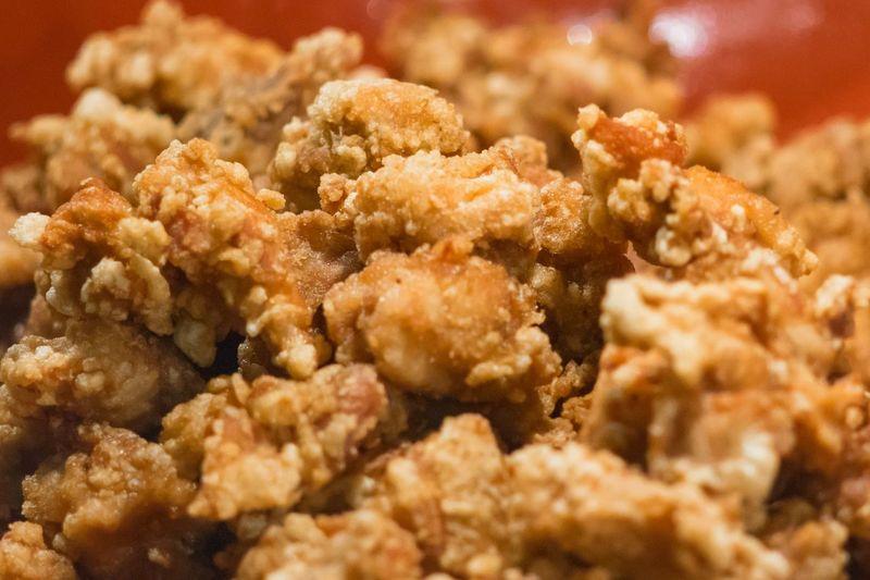 Japanese style fry chicken or karake chicken Japanese Food Japanese  Karake Chicken Chicken Fried Fry Chicken Close-up Animal Food