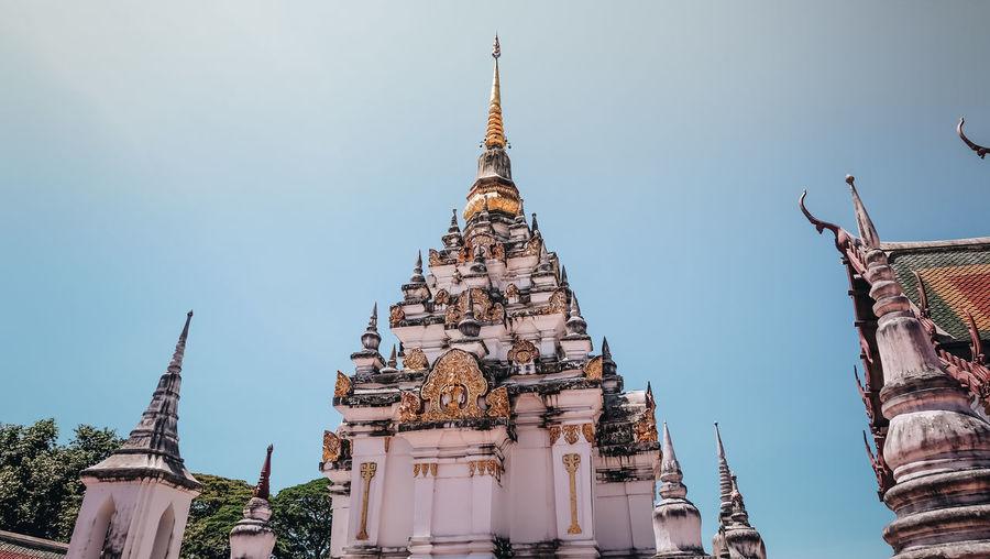 Thailand Architecture Building Building Exterior Built Structure History Religion Sky Temple Temple - Building