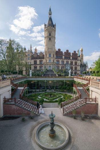 Schwerin castle wedding Schwerin Schloss Schwerin Wedding Wedding Photography Castle Märchen Fairytale  Fairy Tale