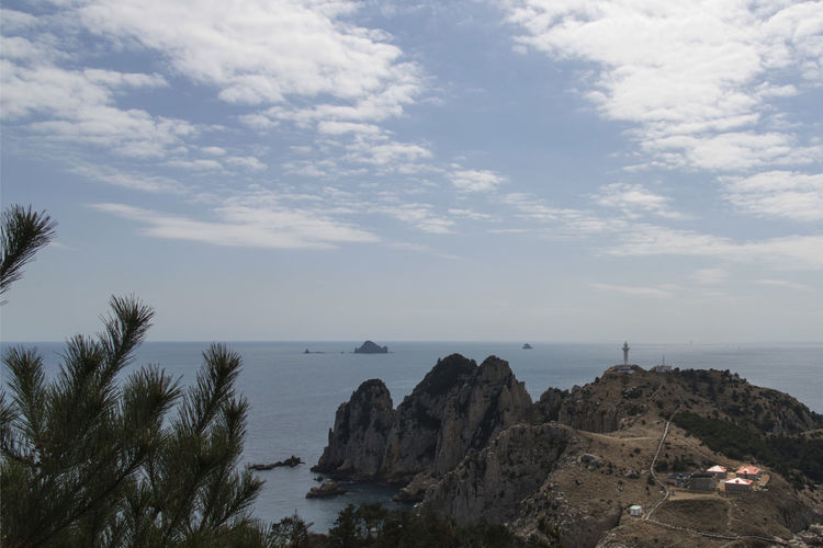 seaside view of Somaemuldo Island in the sea of Tongyeong, Gyeongnam, South Korea. Taken with Nikon d850 Cloud Lighthouse Nature's Beauty Nikon D850 South Korea Tongyeong Tranquility Beach Beauty In Nature Beauty Of Nature Cloud - Sky Cloud And Sky Cloud And Sky Collection. D850 Day Horizon Over Sea Horizon Over Water Island Nature No People Outdoor Outdoor Photography Outdoors Scenery Scenics Sea Sea And Cliffs Sea And Sky Sea Cliff Sky Somaemuldo Tranquil Scene Tranquility Tranquillity Water