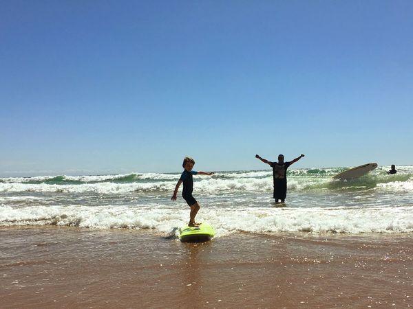 Surfing 1st Stand Up with Boukaloha Boukaloha