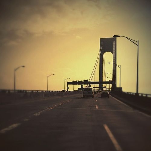 Verazzanobridge Bridge NYC Statenisland on the way to see Taleofus