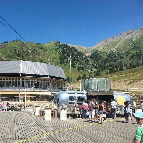 20140802 , Казахстан , алматы . Горнолыжный курорт Шымбулак (Чимбулак)/ Kazakhstan, Almaty. Ski resort Shymbulak (Chimbulak).
