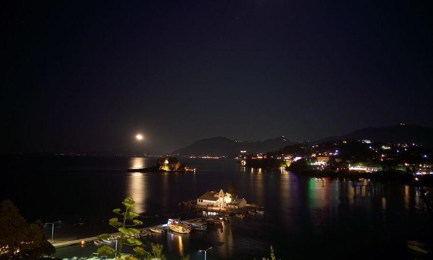 CORFU ISLAND Corfu, Greece Mouse Island Pontikonisi