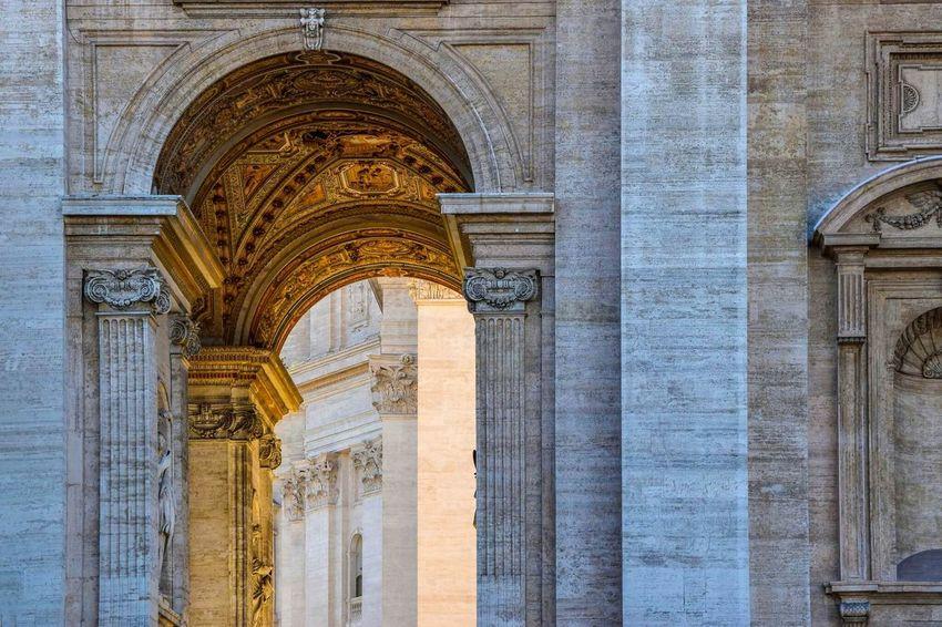 Architecture Traveling Sunset Light Light And Shadow Orange In Love Roma Watykan