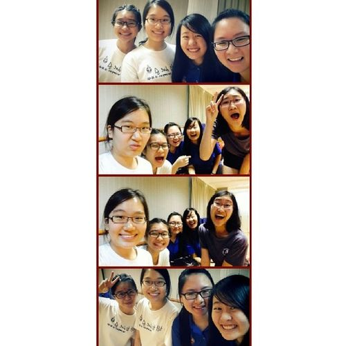 """Hey ah baby! Woh ha! I wanna know ohh if you'll be my gal"" hahah Campfire Gbpals Awesomemeetup"