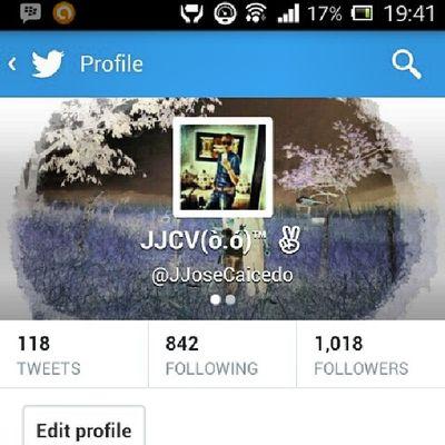 My @twitter @jjosecaicedo Cool Fun Funny Excelent follow follow4follow
