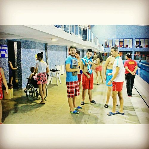 Swimming For Disabled People #canakkale