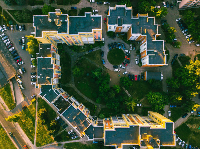 Residential buildings Aerial Shot Architecture Block Flats Block House DJI X Eyeem Drone  Lietuva Aerial Aerial View Architecture Building Building Exterior Built Structure Car City Cityscape Day Europe High Angle View Mavic Mavic Pro Mode Of Transportation Motor Vehicle Nature No People Old Outdoors Plant Residential Building Residential District Sport Street Transportation Tree