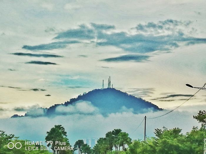 Huawei P9 Plus Leicatechnology Bmhill Bukitmertajam Nature Sky