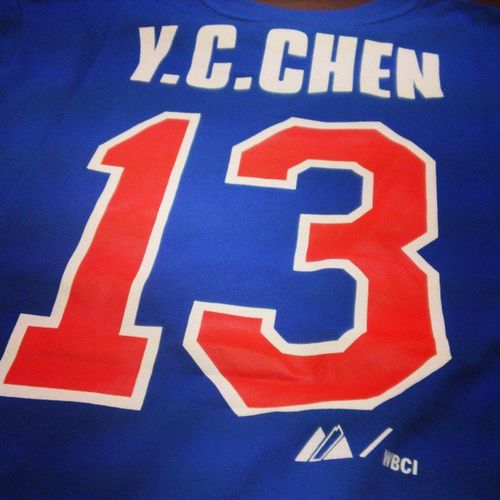 Outfit for tomorrow ;) 明天就這樣穿 CPBL Baseball Taiwan Unilions 陳鏞基