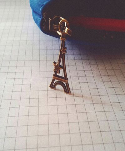Pencil-case Charm The Eiffel Tower Student Studies