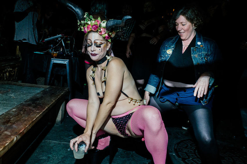 When in San Francisco, teaching a workshop, at the StreetFoto SF I got the opportunity to shoot backstage at the Oasis. This is my series *Girls of the Oasis* The Photojournalist - 2018 EyeEm Awards HUAWEI Photo Award: After Dark