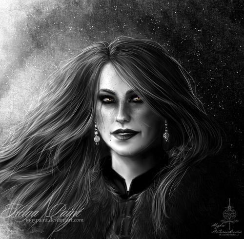 Art Beautiful Woman Fantasy Keris Portait Portrait Sapkowski Thewitcher Thewitcher3 Thewitcher3wildhunt