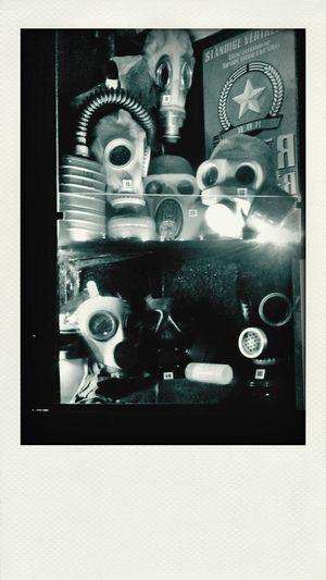 U.S.S.R. Cold War Gas Masks War Memorial Army Relics Make Peace Not War ✌
