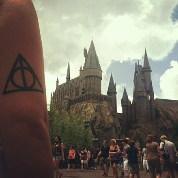 Thedeathlyhallows At Hogwarts Harrypotter