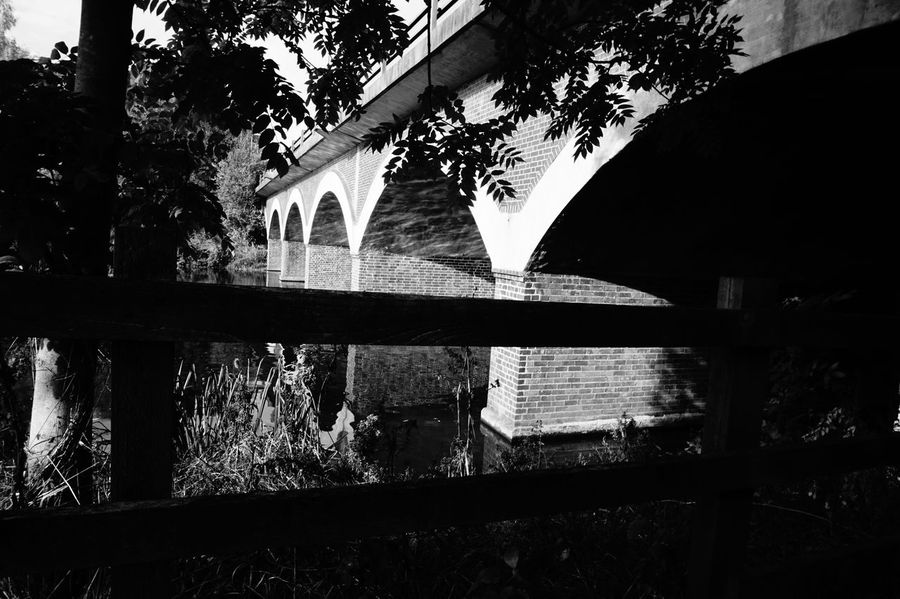 7198 Arch Arches Architecture Black & White Black And White Black And White Photography Blackandwhite Blackandwhite Photography Brick Bridge Brick Work Bridge - Man Made Structure Bridge Arch Bridge Architecture Bridge View Built Structure Day History Low Angle View No People Outdoors Sky Tree Water Reflections Wooden Fence The Architect - 2017 EyeEm Awards