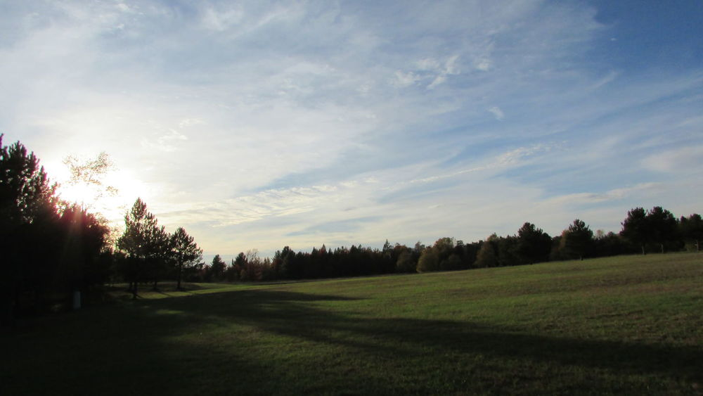 Taking Photos Country Life Late Evening Sky Sun And Shadow Serene Tustin Pure Michigan
