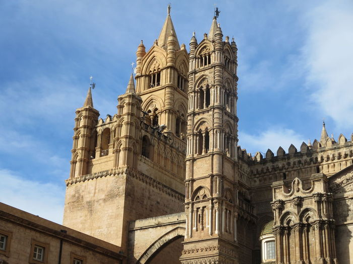 Catedral de Palermo, Itália Catedral Cathedral Palermo Church Palermo Sicilia Sicily Architecture Building Exterior Built Structure Church Architecture History Outdoors Religion Sky Spirituality Travel Destinations