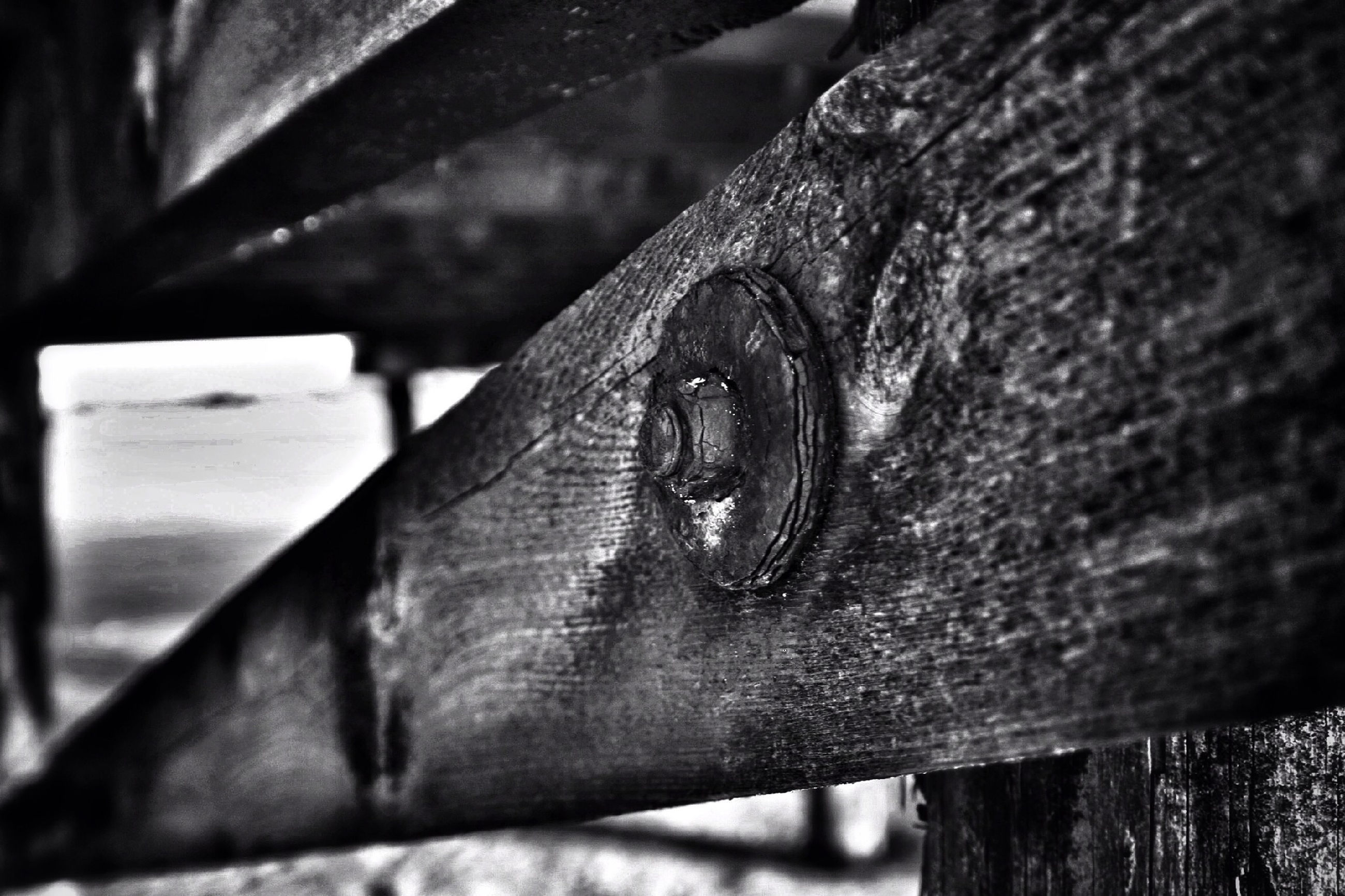 close-up, focus on foreground, part of, rusty, selective focus, wood - material, old, metal, textured, weathered, cropped, detail, wooden, wood, extreme close-up, plank, outdoors, day, metallic, macro