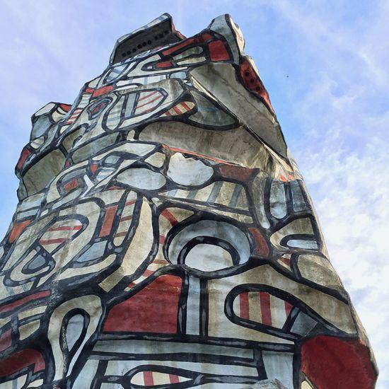 Architecture Art Dubuffet Park Paris