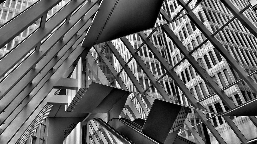 Architecture Urban Geometry Blackandwhite