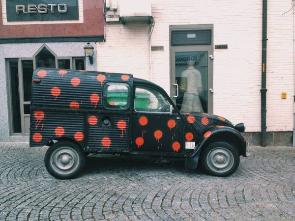 Ilegalphotography Belgium Car Dots Aalst