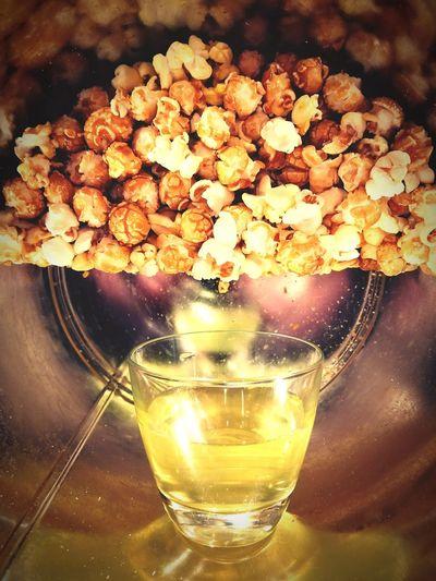 Popcorn and Pop Movie Time Popcornandsoda PopcornTime Snack Time! Snack Time! Surreal Food Popcorn Soda Pop Art StillLifePhotography Still Life